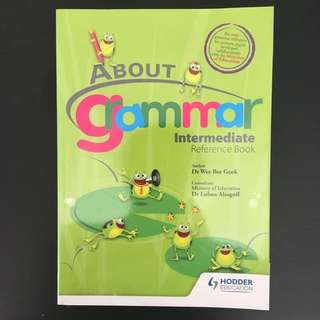 About Grammar (Intermediate Reference Book)