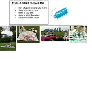 Picnic outdoor indoor for students special package
