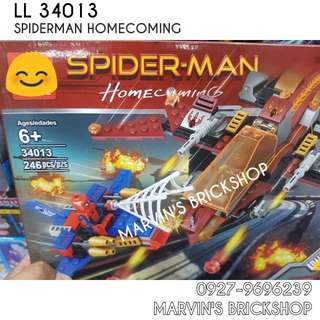 For Sale Spiderman Homecoming Building Blocks Toy