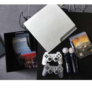 PS3 Slim White
