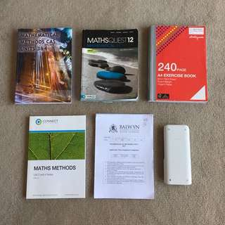 Maths methods books