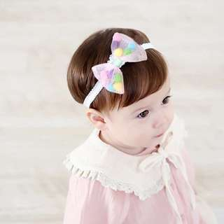 Baby Girl colourpop Hairband