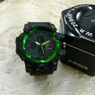 jam tangan : g shock casio
