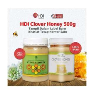 Clover honey 500gr - [NEW]