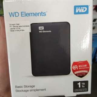 Harddisk WD Element 1 TB