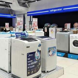Mesin cuci LG bisa cicil