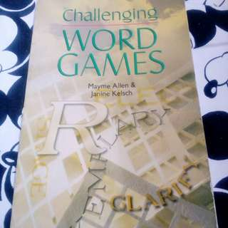 Challenging Word Games by Mayme Allen & Janine Kelsch