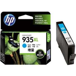 全新原裝墨盒HP 935XL 藍色