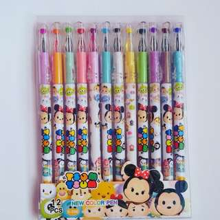Tsum tsum Colored Pens