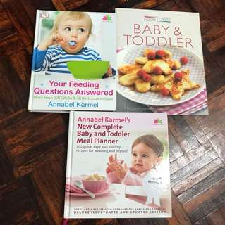 Books about baby food