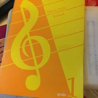 Piano music grade 1 theory practice workbook