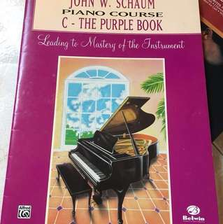 Piano course - the purple book for grade 2