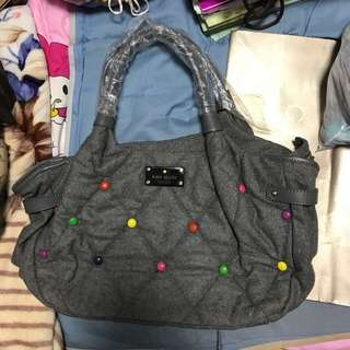 Kate Spade winter M&Ms bag in grey colour