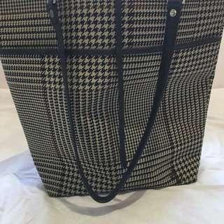 Authentic Ralph Lauren Plaid Tote Bag