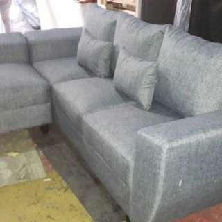 Sofa l siap kirim