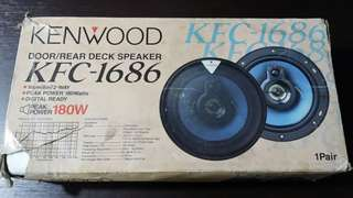 Kenwood Car Speakers (Made in Japan)