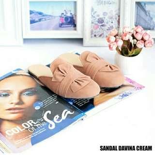 Sandal davina cream