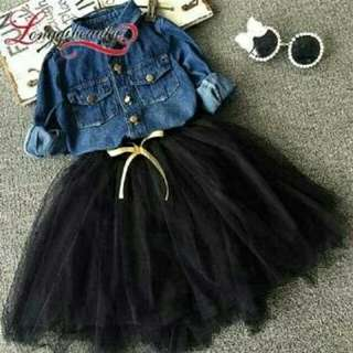 Set linggi denim kids hs
