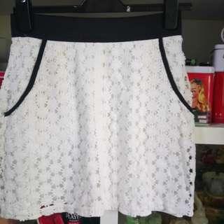 Summer skirt flower cut