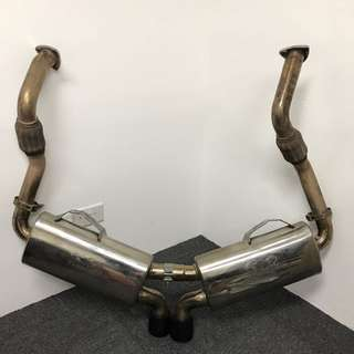Porsche 987.1 Boxster/Cayman Fabspeed Maxflo Performance Exhaust System