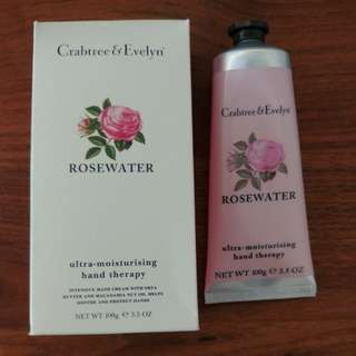 潤手霜 Crabtree & Evelyn Rosewater 100g