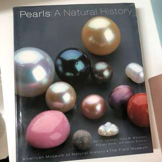 Pearls a natural history 珍珠 歴史 珍藏