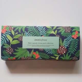 Innisfree Best Capsule Recipe Pack Collection (Green Tea, Jeju Volcanic, Bija & Aloe)