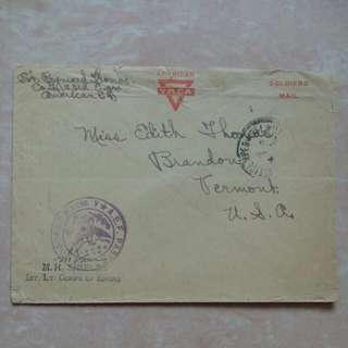 [lapyip1230] 美國戰時軍郵 1917年