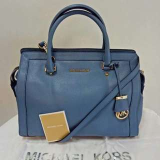 Michael Kors Collin Medium Satchel Authentic