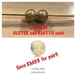Pandora Golden Glitters Ball