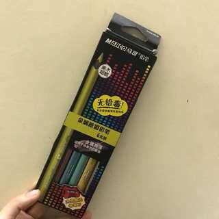 金屬色鉛筆/顏色筆