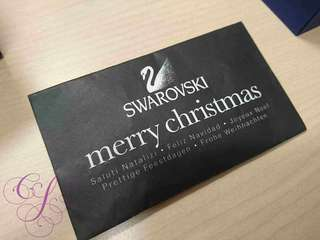 Swarovski SCS Member Christmas Gift