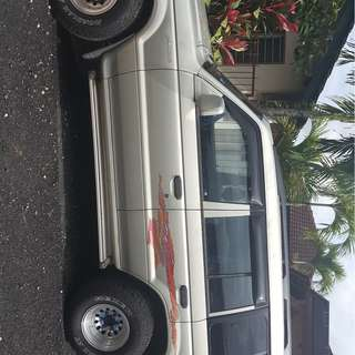 Mitsubishi pajero 2.6 manual