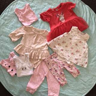 Baby Girl Bundle - All items for $5 (Newborn +)