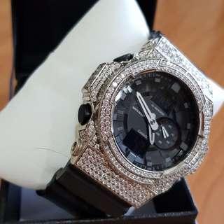 Rare G Shock with Full Swarovski Crystal