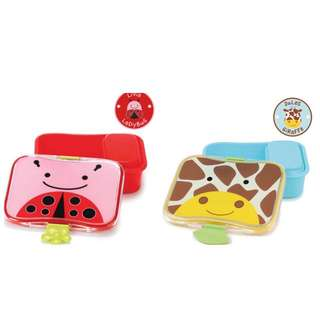 Skip Hop lunch box and utensils