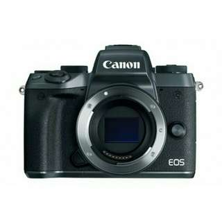 Kredit Tanpa Kartu Kredit Canon EOS M5 Body Only