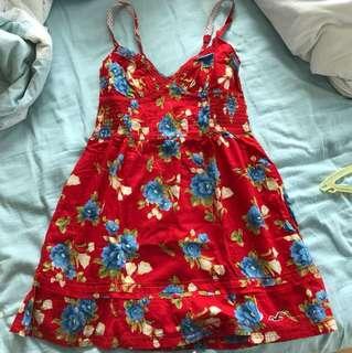 Hollister Red Summer Dress
