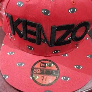 Kenzo New Era Caps topi hat sz 7 3/8
