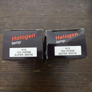 H15 Halogen Bulb(Super White) 6000K*