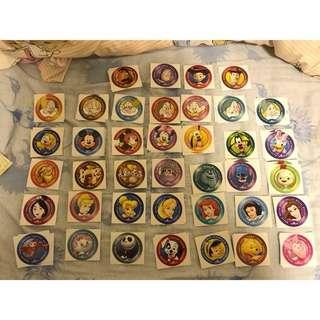 換 大圓 迪士尼貼紙 Disney stickers