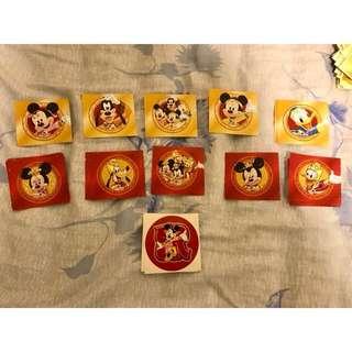 換 新年貼紙 迪士尼貼紙 Disney stickers