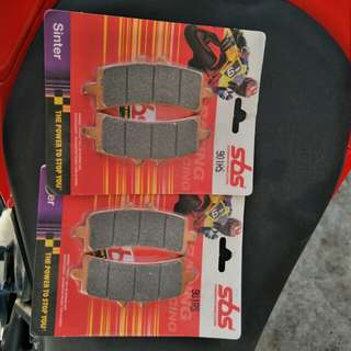 Sbs sinter brake pads