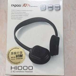無線耳機 2.4G Wireless Headset 兩個