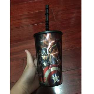 復仇者聯盟-塑膠隨身杯