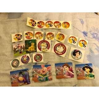 換 迪士尼貼紙 Disney stickers