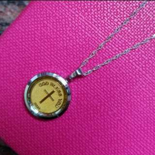 999.9 Gold Pendant With Silver Chain 足金生肖吊咀連925純銀項鍊套庄           ❤God Loves You❤