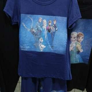Set baju frozen