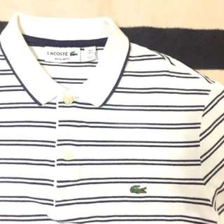 Authentic lacoste poloshirt made in peru