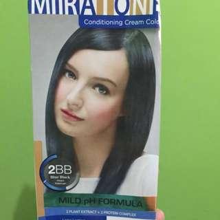 Cat rambut Miratone Blue Black